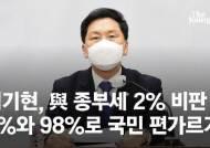 """김기현, 민주당 '상위 2% 종부세' 비판…""""국민 편 가르기"""""""