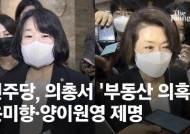 '부동산 투기 의혹' 윤미향·양이원영 제명…의원직은 계속 유지