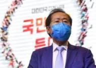 첫 대선 행사서 윤석열·이재명 모두 두드린 '맏아들' 홍준표