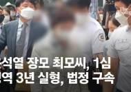 윤석열 전 총장 장모 징역 3년 법정구속…대선 판도 흔드나