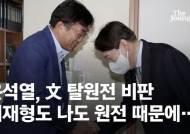"""尹, 탈원전 작심하고 때렸다 """"원전수사 압력에 사퇴결심"""""""