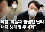 최재형을 대선주자로 띄운 '탈원전'…윤석열이 선수쳤다