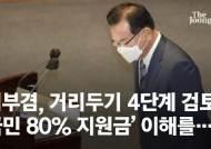 """김부겸, 원고 없던 대국민 사과…""""거리두기 최고단계 검토"""""""