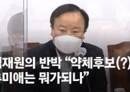 """김재원 """"내가 秋 지지하면 약체후보 역선택?…秋 뭐가 되나"""""""