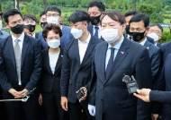 """광주 간 尹 """"광주의 한, 자유민주주의와 경제번영으로 승화"""""""