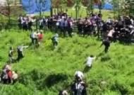 민노총 언덕 기어오르며 집회…그날 원주 확진자는 최다였다