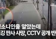 뺑소니인줄 알았는데…조깅 판사 사망, CCTV 속 충격 반전