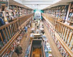 문화유산이 된 서점, 그곳서 책 향기에 취하다