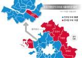 3자 구도는 서울·인천·경기 모두 여당 우세, 야권 단일화로 일대일 구도 되면 야당 유리