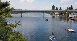 '아름답고 푸른 도나우강'에서 '비엔나 와인'과 함께 로맨틱 피크닉