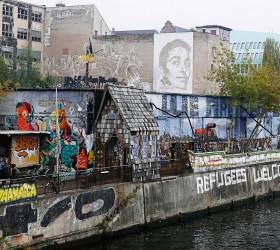 <!HS>히틀러<!HE> 벙커가 암벽등반장? 괴짜 같은 도시 베를린
