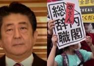 """도쿄에 촛불·차벽…""""아베는 물러나라"""" 집회에 3만명 모여"""
