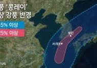 태풍 영향 '비바람'…남부지방·제주 대부분 지역에 태풍경보