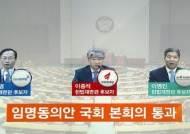 [여당] '식물 헌재' 끝…국회, 헌법재판관 후보자 3인 선출