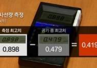 '라돈 생리대' 방사선량 '기준치 3.8배' 재확인…업체 측 반박