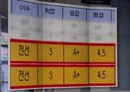 [뉴스브리핑] 아들에 '올 A+' 준 교수 아빠…교육부 조사