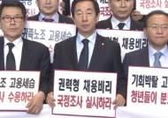 기로에 선 정기국회…'채용특혜 국정조사' 각당 입장은