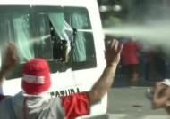경기장 가던 상대 선수단 버스 습격…살벌한 '남미 축구'