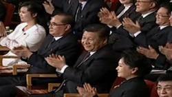 현송월, 시진핑과 나란히 '상석'에…북-중 우호 과시