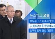[뉴스체크|오늘] '사법농단 의혹' 양승태 보석 심문
