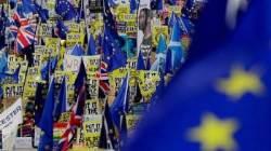 """""""브렉시트, 제2 국민투표 하자""""…런던서 100만명 집회"""