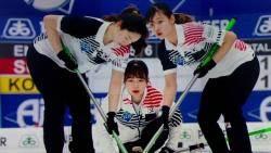 리틀 팀킴, 일본 꺾고 동메달…'세계선수권 첫 메달'