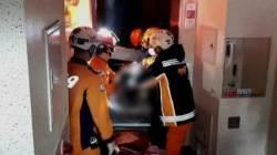 아파트 낡은 엘리베이터 교체 작업 중 추락…2명 숨져
