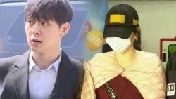 """'마약 투약' 박유천 검찰로…""""거짓말 죄송, 벌 받겠다"""""""