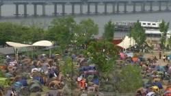[밀착카메라] 괴로운 연휴…한강 '무질서와의 전쟁'