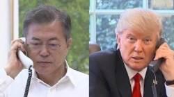 한·미 정상 오늘 밤 전화통화…한반도 상황 논의 예정