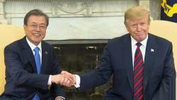 한·미 정상 '북 대화궤도 유지' 공감…협상 재개방안 논의