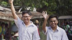 '미얀마 로힝야족 학살 취재' 기자들, 511일 만에 석방