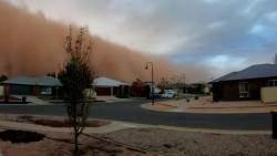 """호주 뒤덮은 '먼지 폭풍'…""""세계 곳곳 건조지대 늘어"""""""