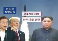 """""""김 위원장 화력타격훈련 지도""""…'식량지원' 논의 앞두고 왜?"""