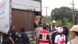 [해외 이모저모] 멕시코서 불법 이민자 142명 실은 트럭 적발