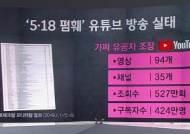 [팩트체크] 신군부 옹호 → 유공자 폄훼…5·18 가짜뉴스 변모