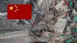 상하이 공사 건물 무너져 7명 사망…실종자 2명 수색