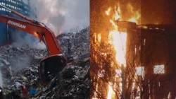 영천 폐기장 화재진화 2~3일 더…폐비닐 더미에 어려움