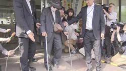 모녀 덮친 일본 '87세 운전자'…지팡이 2개 짚고 나타나