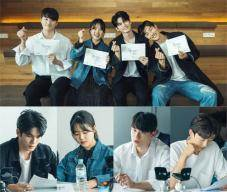 '열여덟의 순간' 옹성우X김향기, '청량 케미' 대본리딩 현장