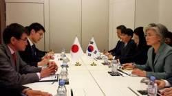 한·일 외교장관 회담…'강제동원 배상 판결' 신경전 팽팽