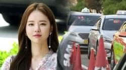 배우 한지선, 택시기사·경찰 폭행 논란…'벌금형 집행유예'