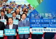 [뉴스체크|정치] 김해신공항 백지화 여론전