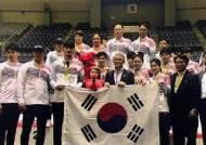 남자 사브르·여자 에페, 아시아 선수권 나란히 금메달