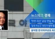 [뉴스체크|경제] 윤덕병 한국야쿠르트 회장 별세