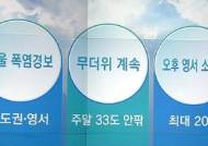 [오늘의 날씨 키워드] 서울 폭염경보·무더위 계속·오후 영서 소나기