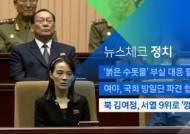 [뉴스체크|정치] 북 김여정, 서열 9위로 '껑충'