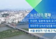 [뉴스체크|경제] 서울 분양가 1년 새 21% 급등
