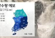 [날씨] 전국 대체로 흐리고 남부지방 '장맛비'