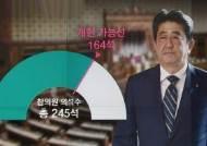 참의원 3분의 2…'전쟁하는 국가' 아베의 고지전